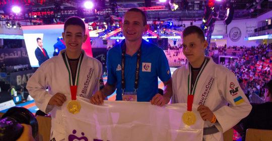 El equipo de Biotexcom tiene 3 títulos de Campoen de Mundo en jiu-jitsu brasileño.