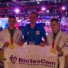 El equipo de BioTexCom tiene 3 títulos de Campeón del Mundo en jiu-jitsu brasileño.