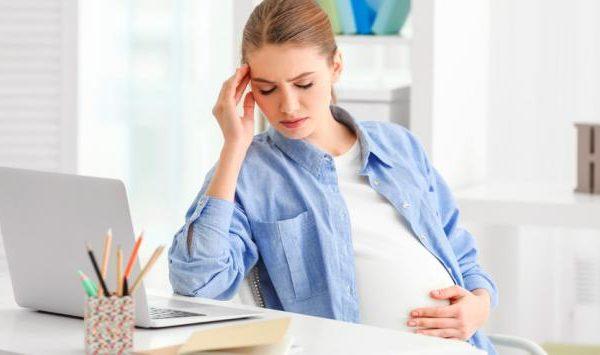 Los efectos del estrés en el embarazo