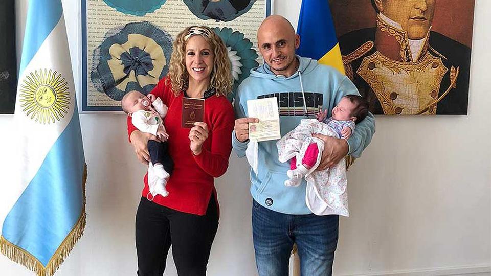 bebas y quedó varada en Ucrania