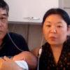 Subrogaron un vientre en Ucrania y después de dos meses conocieron a su hija